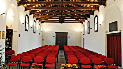 L'auditorium visto dal palco