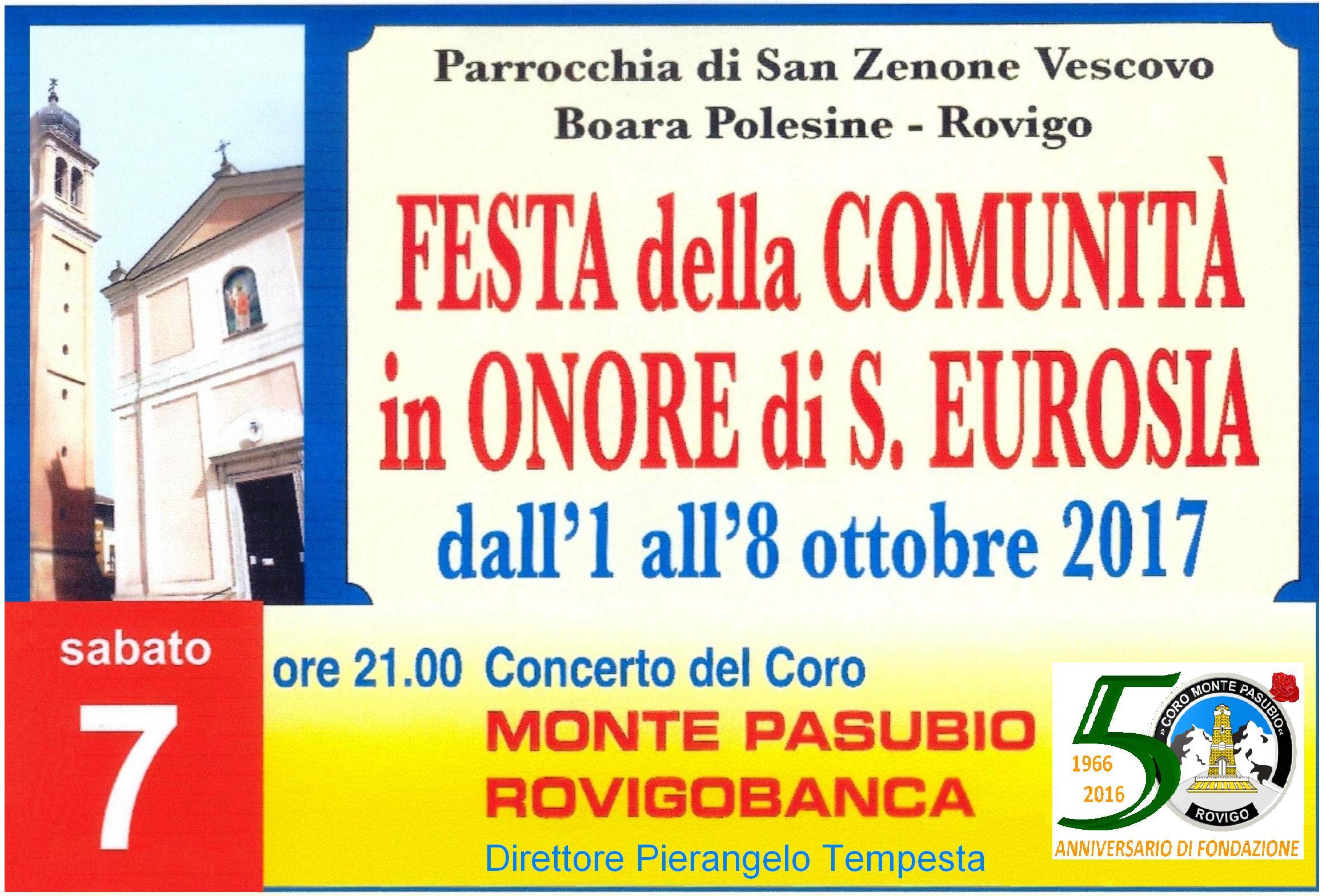 Concerto per Santa Eurosia