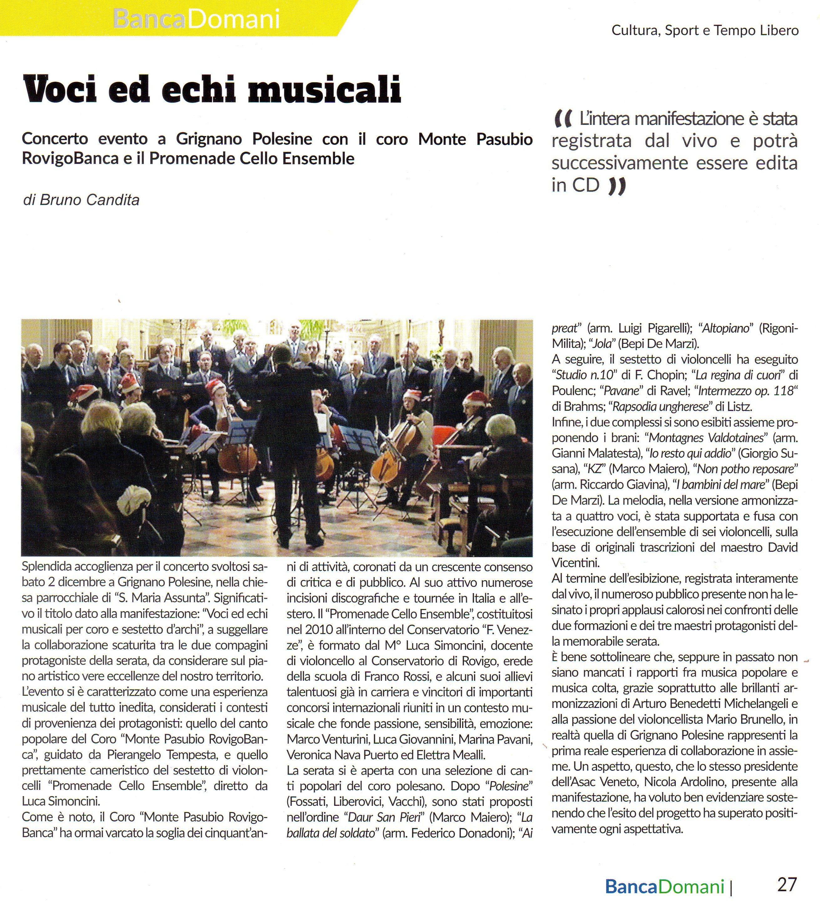 Voci ed Echi Musicali